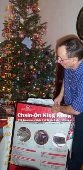 cadeau noel chasseur tree stand king kong