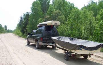 Trousse de secours pour un voyage de pêche