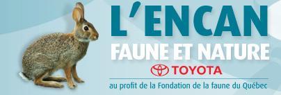 Encan 2009 de la Fédération de la faune et nature Toyota