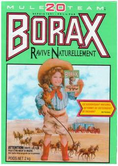 Où acheter du Borax
