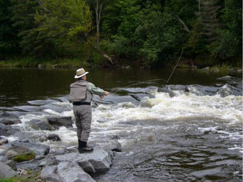 Kareliya le repos de la photo la pêche