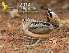 Calendrier 2014 - Fondation de la faune du Québec